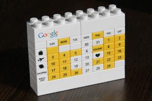 Google lego calendar