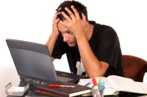 Stress computer