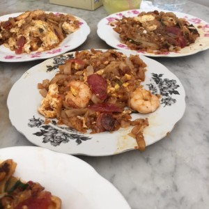 char kway teow plate