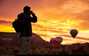 Traveller hot air balloon